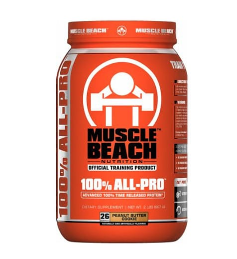 Muscle Beach Nutrition 100% All-Pro Review - Beach Bod